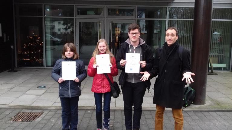Prüfungsteilnehmer Dezember 2016